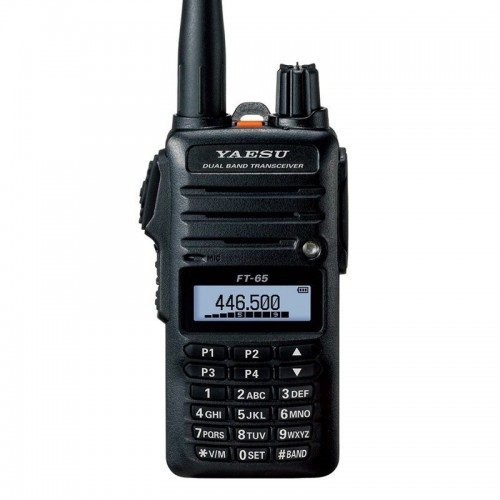 YAESU FT-65E RICETRASMETTITORE PORTATILE VHF/UHF PORTATILI