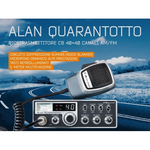 MIDLAND ALAN 48 QUARANTOTTO  CB