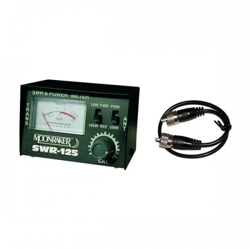 SWR-125 ROSMETRO/WATTMETRO CB 100W ROSMETRI/WATTMETRI