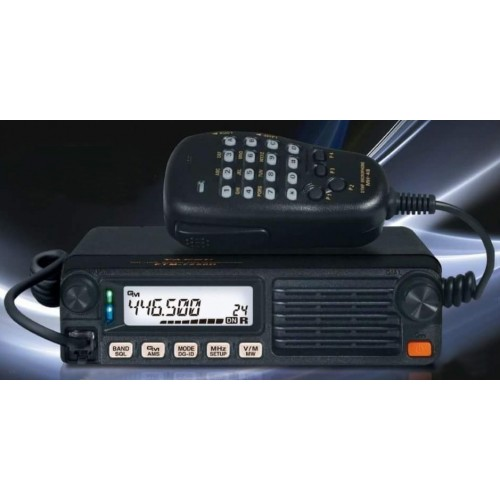 YAESU FTM-7250 DE RICETRASMETTITORE VEICOLARE VHF/UHF/FM C4FM 50W VEICOLARI