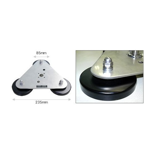 DIAMOND K-3000 BASE MAGNETICA TRIPLA