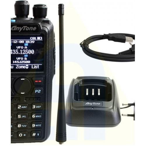 ANYTONE D878UV PLUS BLUETOOTH DUALBAND DMR/FM
