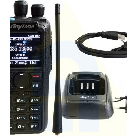 ANYTONE D878UV PLUS BLUETOOTH DUALBAND DMR/FM DMR