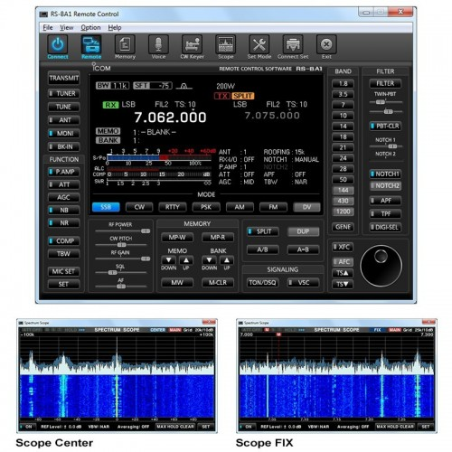 ICOM RS-BA1 SOFTWARE PER CONTROLLO REMOTO VERSIONE 2.0