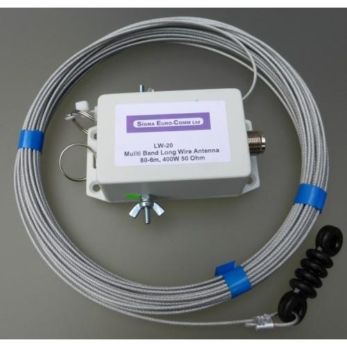 SIGMA LW-20 LONG WIRE 3,5 - 52 MHz