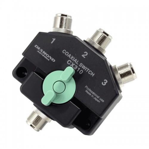 DIAMOND CX-310N COMMUTATORE A 3 VIE CON CONNETTORI N