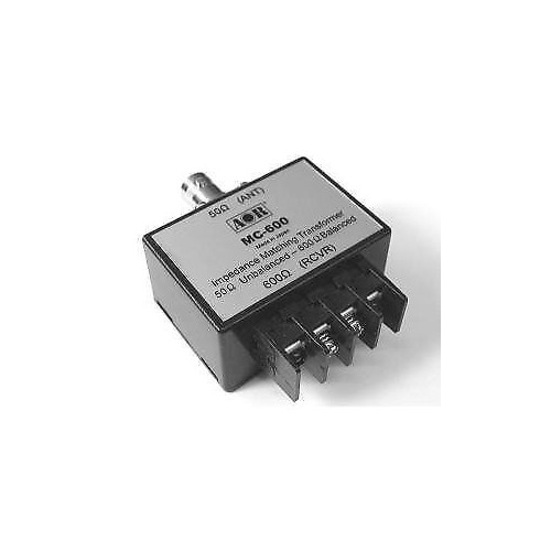 AOR MC-600 IMPEDENCE MATCHING TRANSFORMER