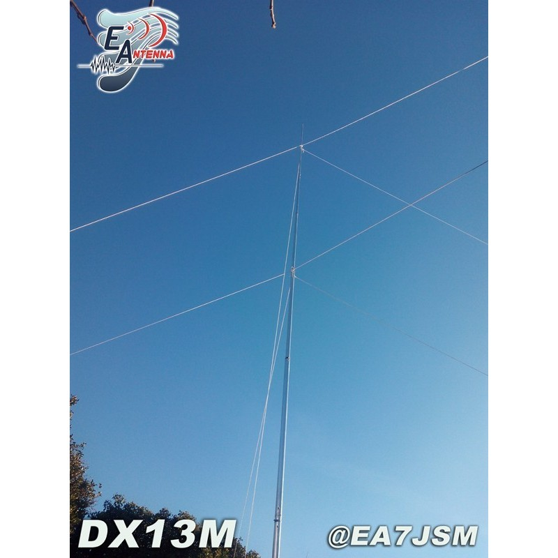 EANTENNA DX13M ANTENNA VERTICALE 1.8-70MHZ 3KW