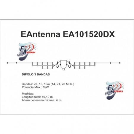 EANTENNA EA101520DX DIPOLO MULTIBANDA FILARI