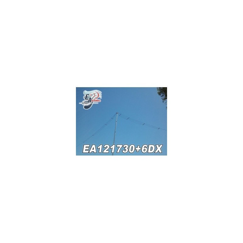 EANTENNA EA121730+6DX DIPOLO FILARE 3KW PER BANDE WARC + 6M